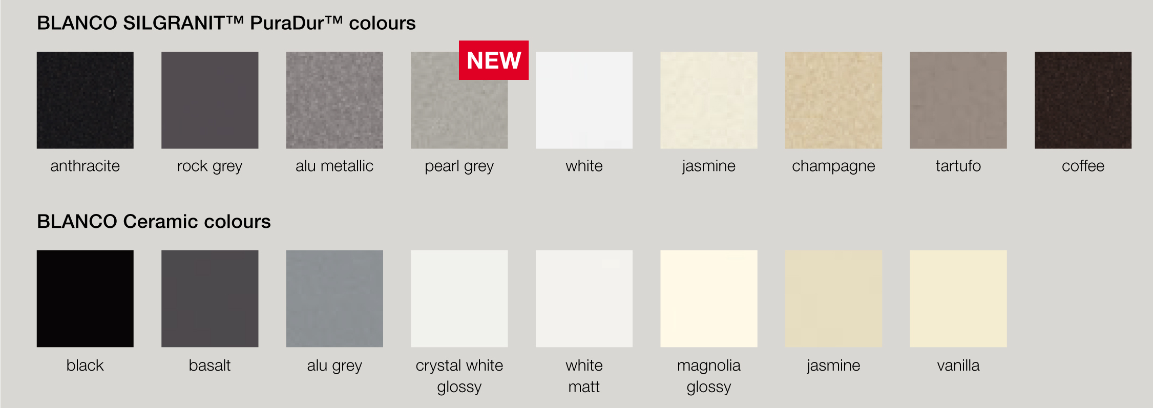 Blanco Silgranit Colours : BLANCO?s online color assistant will help you create tasteful ...